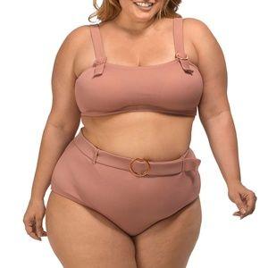 NWT Lysa Swim Bikini 2 Piece Swimsuit Set 0X-3X